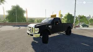 100 Truck From The Expendables FS19 F350 ESCORT TRUCK V100 LS17Modscom Farming Simulator