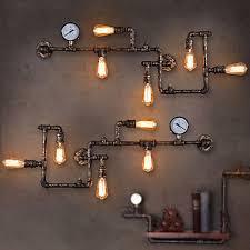 best 25 industrial wall lights ideas on vintage wall