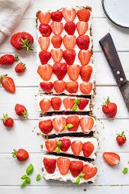 strawberry tart with mascarpone gluten free