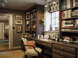 Rustic Red Leather Office