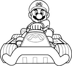 Coloriage Toad Kart Coloriage De Mario A Imprimer Coloriages Mario