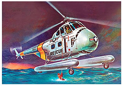 Revell H-19 Rescue Helicopter Model Kit - 1/48 scale