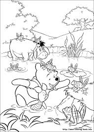 Winnie The Pooh Birthday Printable Coloring Pages Pdf