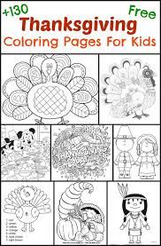 130 Thanksgiving Coloring Pages For Kids