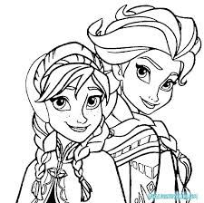Frozen Coloring Pages For Kids Pictures To Color Unique Printable