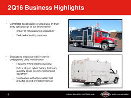 Spartan Motors, Inc. 2016 Q2 - Results - Earnings Call Slides ... Harbor Single Rear Wheel Workmaster Body Truck Bodies Youtube Spartan Motors Wikipedia Knapheide Crane Bonnell Check Out My Slash Towing Erv Houston Fire Department Tx 2119 3 Units Moroney Photo Gallery Stats These Numbers Are Real New And Used Semi Supreme Cporation Options 2018 Ford E350 12ft For Sale Kansas City Mo Isuzu Nprhd With A 14 Utility