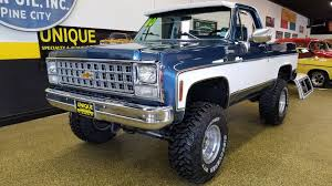 100 Blazer Truck 1980 Chevrolet K5 4x4 For Sale 90483 MCG