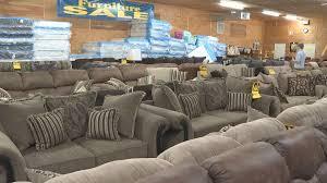 Not enough snow for free furniture at Paducah Warehouse Furniture