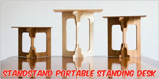 StandStand A Beautiful Easy to Use Portable Standing Desk
