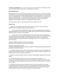 Oil Field Skills For Resume New Summary Examples Example Of
