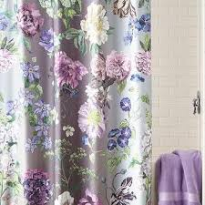 Wonderful Purplegreen Ikat Shower Curtain World Market Regarding