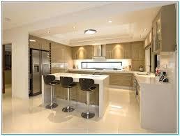 U Shaped Kitchen With Island No L Post