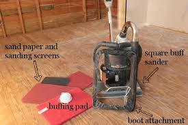 Drum Floor Sander For Deck by Guest Bedroom Hardwood Floor Restoration The Square Buff Sander Way