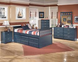 Twin Captains Bed With 6 Drawers by Signature Design By Ashley Leo 6 Drawer Dresser Value City
