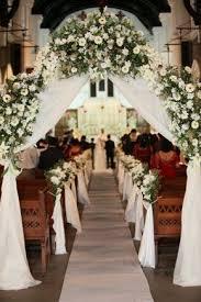 Flowers Bouquets Aisle Decor For Church Wedding Arches Rustic Photos