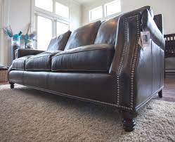 Bradington Young Leather Sectional Sofa by Bradington Young 713 Sofa