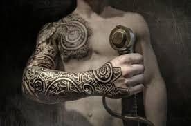 Modern Interpretation Of A Viking Style Tattoo