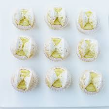 A Picture Of Delias Orange Curd Butterfly Cakes Recipe