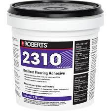 Home Depot Flooring Estimate by Roberts 2310 1 Gal Premium Fiberglass And Luxury Vinyl Tile Glue