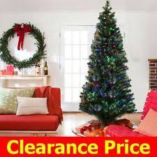 7ft Slim Led Christmas Tree by 3 U0027 Pre Lit Solar Powered Slim Artificial Stake Christmas Tree