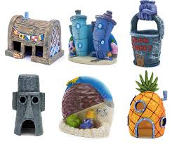Spongebob Fish Tank Ornaments by 80 Awesomely Creative Fish Tank Decorations