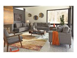 Ashley Larkinhurst Sofa And Loveseat by Ashley Furniture Zardoni Mid Century Modern Loveseat Furniture