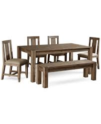 Cheap Dining Room Sets For 4 by Canyon 6 Piece Dining Set Created For Macy U0027s 72