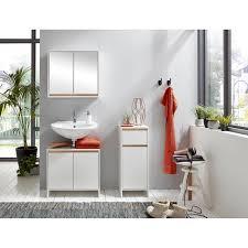 spiegelschrank basic 60 x 60 x 20 cm weiß