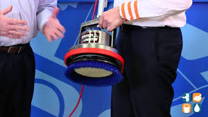 Used Oreck Floor Scrubber by Oreck Orb550mc Commercial Orbiter Floor Machine Hard Surface Demo