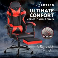 Artiss Gaming Office Chairs Computer Seating Racing Recliner Footrest Black  Red Maharlika Office Chair Home Leather Designed Recling Swivel High Back Deco Alessio Chairs Executive Low Recliner The 14 Best Of 2019 Gear Patrol Teknik Ambassador Faux Cozy Desk For Exciting Room Happybuy With Footrest Pu Ergonomic Adjustable Armchair Computer Napping Double Layer Padding Recline Grey Fabric Office Chairs About The Most Wellknown Modern Cheap Find Us 38135 36 Offspecial Offer Computer Chair Home Headrest Staff Skin Comfort Boss High Back Recling Fniture Rotationin Racing Gaming