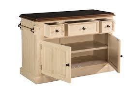 tuscan retreat皰 3 drawer 4 door large granite top kitchen island