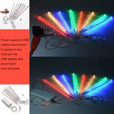 La Tee Da Lamps Ebay by 8 30 50cm 144 240 Led Meteor Shower Rain Lights Waterproof Tubes