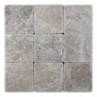 ming green tumbled 4 in x4 in marble floor wall tiles