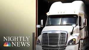 100 Highest Paid Truck Drivers Luxury Big Rigs The FirstClass Life Of NBC Nightly