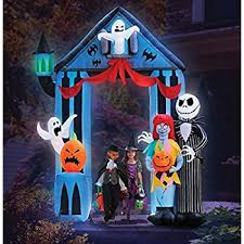 Halloween Airblown Inflatables Uk by Amazon Com Stay Puft Marshmallow Inflatable Home U0026 Kitchen