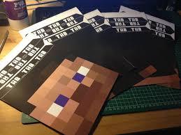Minecraft Sword Pumpkin Carving Patterns by Facebook