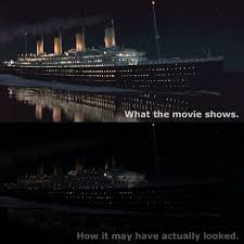 Titanic Sinking Animation Real Time by Watch An Animated Titanic Sink In Real Time Sunken Ships