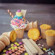 muffins in eiswaffeln cutecottageoverload