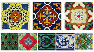 decorative pool tiles ceramic or porcelain mexican tile designs
