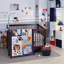 Amazon Com 4 Piece Baby by Amazon Com Lambs U0026 Ivy Future All Star Bedding Set Baby