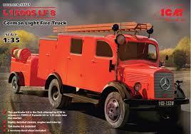100 German Trucks L1500S LF 8 Light Fire Truck ICM 35527
