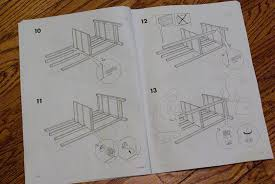 assembling an ikea dresser babytalk bungalow