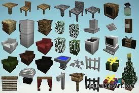 Furniture Mod for Minecraft 1 8