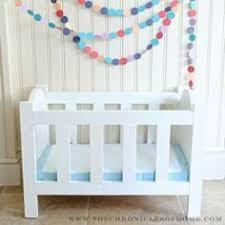 baby doll u0027s crib homemade dolls