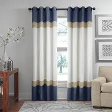 Dkny Mosaic Curtain Panels by Dkny Color Band Grommet Top Window Curtain Panel Family Room