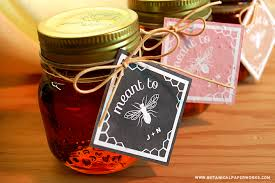Free Printables Rustic Honey Wedding Favors