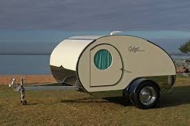 You Can Nearly Double The Size Of Gidget Retro Teardrop Camper By Simply Sliding It Out
