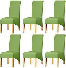 keluina feste gewebe ausdehnung xl stuhlhussen der hohen rückseite für esszimmer spandex große esszimmerstuhl schonbezüge für