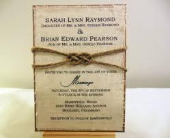 T S M L F Wedding Invitation Cards Rustic
