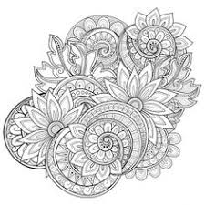 Interesting Design Ideas Flower Coloring Pages For Adults Adult Flowers 2